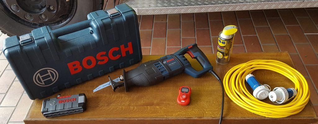 Bild neue Ausrüstung Säbelsäge CO-Warner 2016-06-10 15.18.10